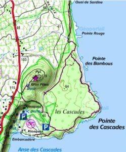 L'anse des cascades à Sainte Rose la Réunion