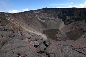 Cratère du Dolomieu à la Réunion
