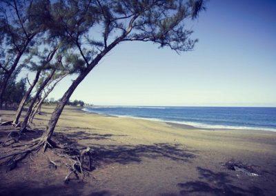 plage étang salé la réunion