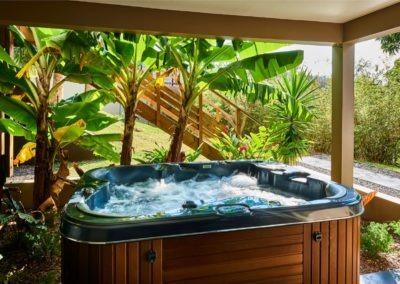 Les équipements SPA de la Villa Roméo, chambre d'hôtes de charme sur la Réunion, Etang Salé