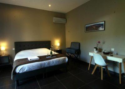 La chambre Ylang Ylang de la Villa Romé, chambre d'hôtes de charme sur la Réunion